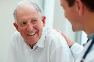 Elderly-Man-With Doctor